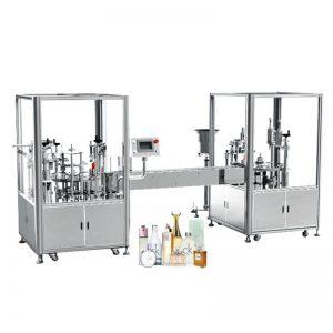 自動香水充填およびキャッピングマシン