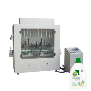 消毒液クリーナーボトルフィラー